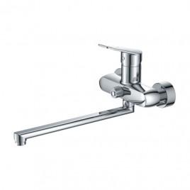 Смеситель ZOLLEN WORMS (арт. WO62411441) для ванны, дл.излив 350мм, с аксес.