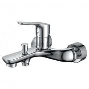 Смеситель ZOLLEN ZEVEN (арт. ZE61610941)для ванной короткий излив,с аксессуарами