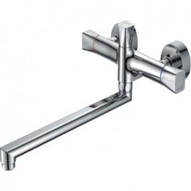 Смеситель ZOLLEN HEIDE (арт. HE62620741) д/ванны длинный изл. 350 мм, с аксес.