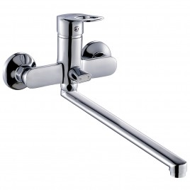 Смеситель ZOLLEN BONN (арт. BO62610241) для ванны нижний излив 35 см с аксес.