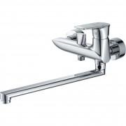 Смеситель ZOLLEN ULM (арт. UL62610841) для ванны дл.излив 350 мм, с аксессуарами