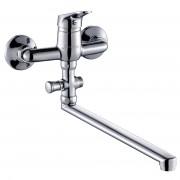 Смеситель ZOLLEN LEIPZIG (арт. LE62610441) для ванны нижний изл. 35 см с аксес.