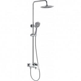 Душевая система ZOLLEN OSTERBURG (арт.OS316148415) пов.излив,верх и ручной душ